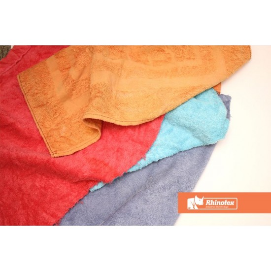 Colour Terry Towel Rags