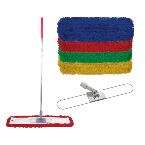 Red Synthetic Sweeper Mop 60cm (head only)