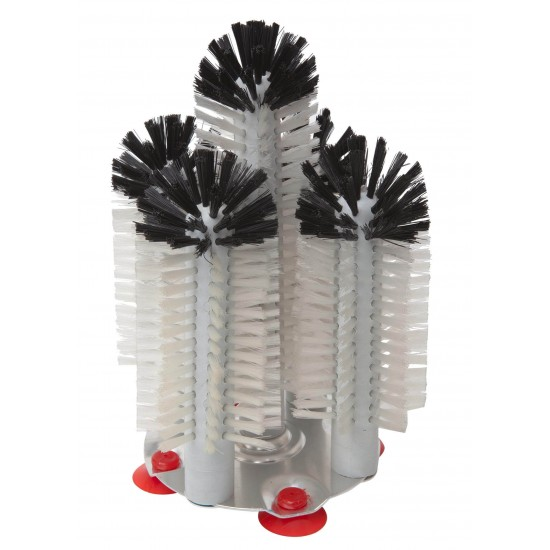 5 Brush Glass Washer Hedgehog