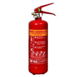 PowerX Fire Extinguisher - 2 Litre Wet Chemical