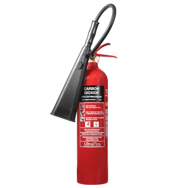 EXT EXC5 5KG CO2 Steel Fire Extinguisher