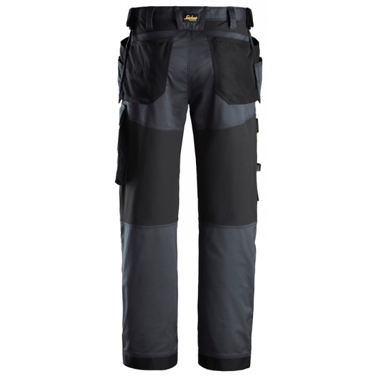 Snickers Stretch Loose fit Work Trousers Holster Pockets