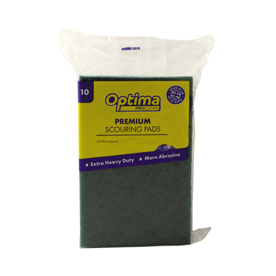 Optima Proclean Premium Scouring Pads (pack of 10)