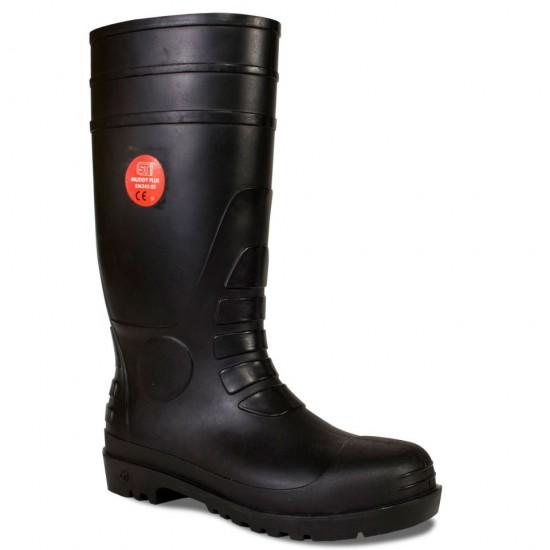 372a5bf6a7e Wellington Boots Steel Toe Cap and Midsole S5