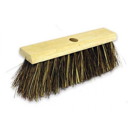 13″ Bassine / Cane Yard Wooden Sweeping Broom