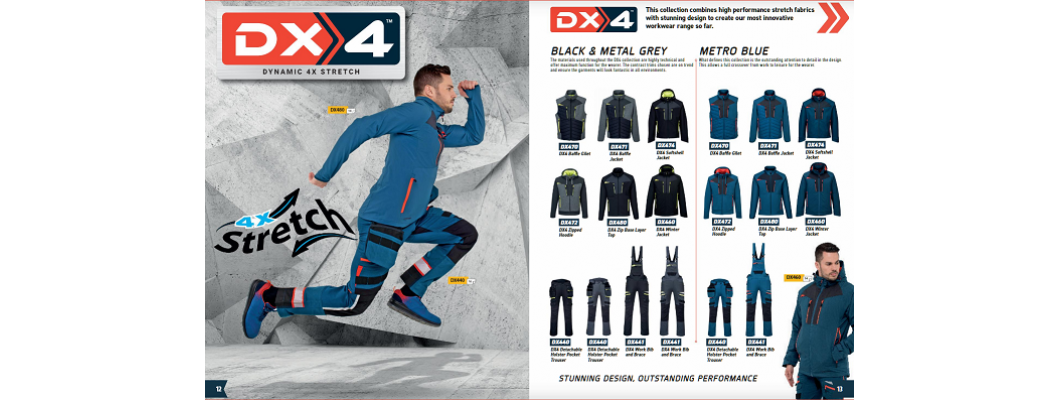Portwest DX4 Dynamic 4 Way stretch