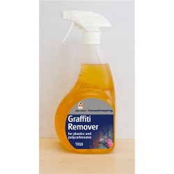 Graffiti Remover for plastics and Polycarbonates 750ml