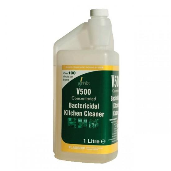 V500 Bactericidal Kitchen Cleaner Concentrated 1 Litre