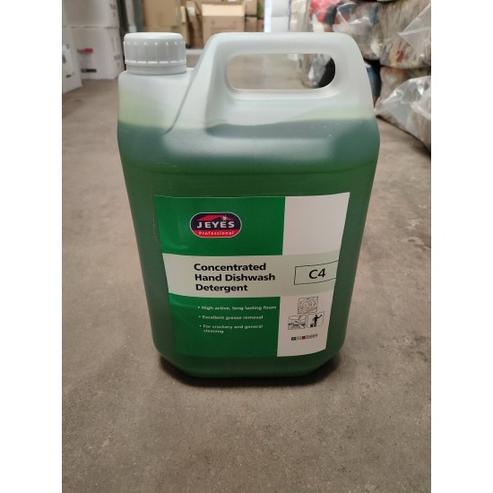 C4 Hand Wash Concentrated Detergent 5 litres