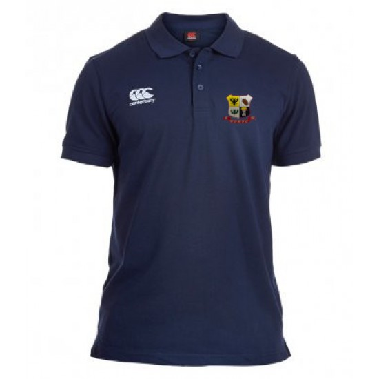Canterbury Waimak Pique Polo Shirt with WDRFC logo