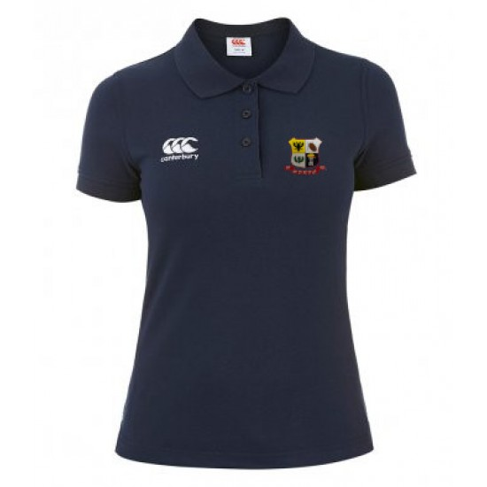 Canterbury Ladies Waimak Pique Polo Shirt with WDRFC logo