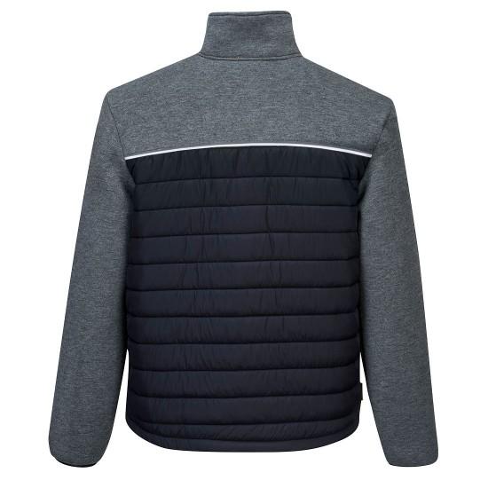 Portwest DX4 Baffle Jacket Metal Grey