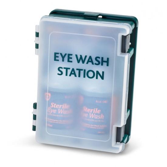 Medical Eye Wash Station Boxes with 2 x 500ml bottles