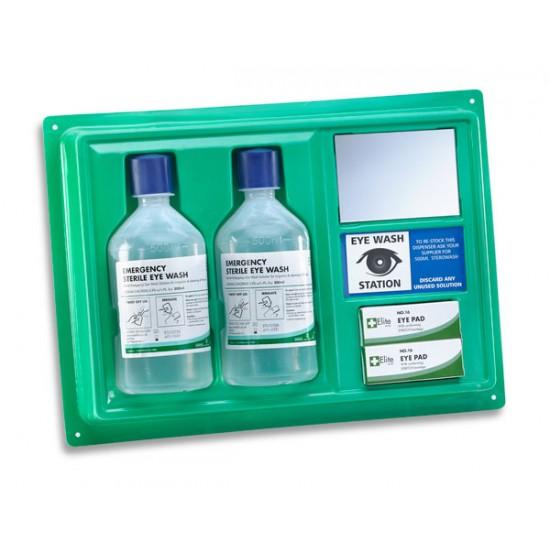 Click Medical Eye Wash Station with 2 bottles