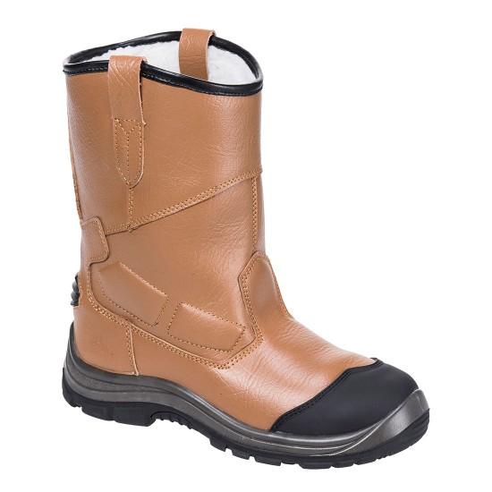 Portwest Steelite Rigger Boot Pro S3 CI HRO Tan