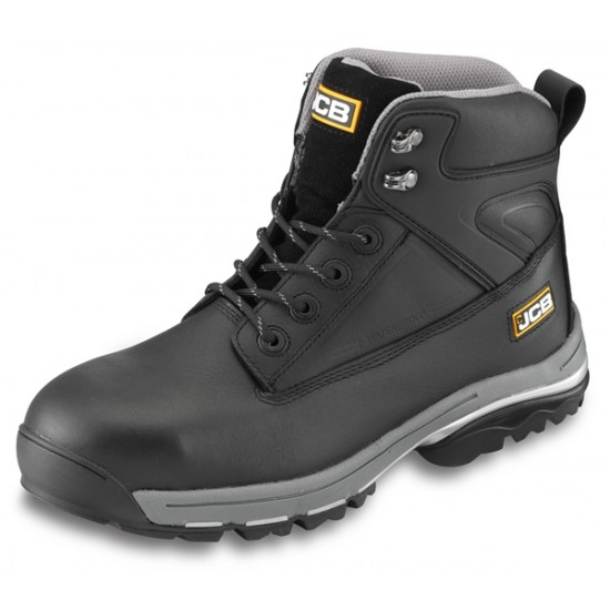 JCB F/TRACK Safety Boots in Black S3
