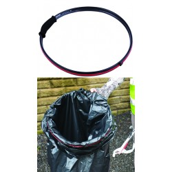 Handi-hoop waste sack carrier