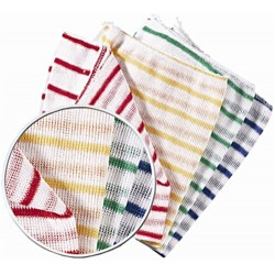 Colour Coded Cleaning Cloths (10 pack)