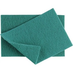 Green Scouring Pads (pack of 10)