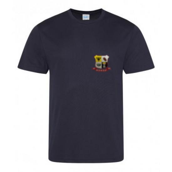 AWDis Cool T-Shirt with WDRFC logo