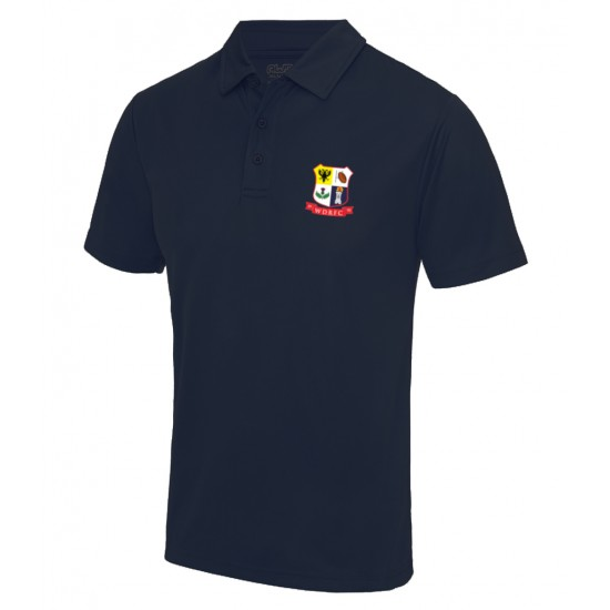 AWDis Kids Cool Polo Shirt with WDRFC logo
