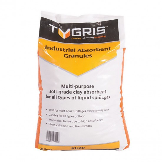 TYGRIS Industrial Absorbent Granules [20 litres]