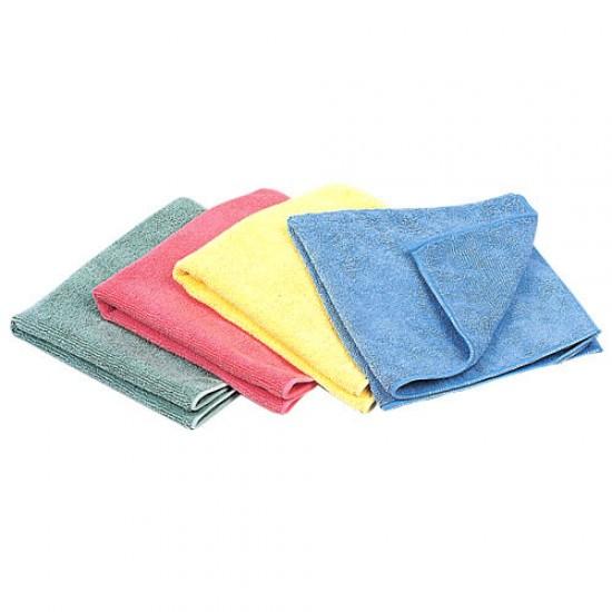 Micro Fibre Cloths (colours) 10 pack