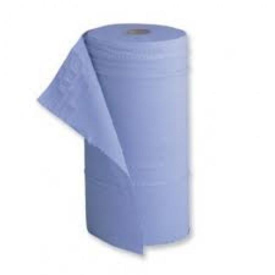 "Hygiene Roll 3 ply Blue Roll 10"" (18 rolls)"