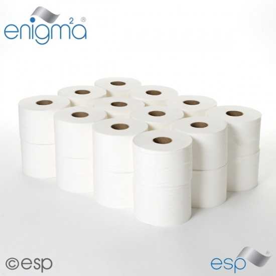 Micro Toilet Rolls 2-ply (24 rolls)