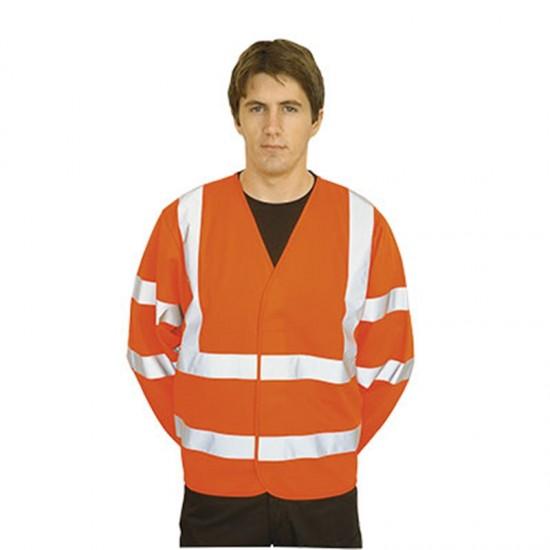 Portwest Hi-Vis Two Band & Brace Jacket