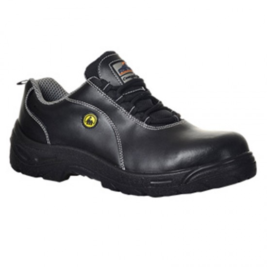 Portwest Composite lite ESD Leather Safety Shoe S1