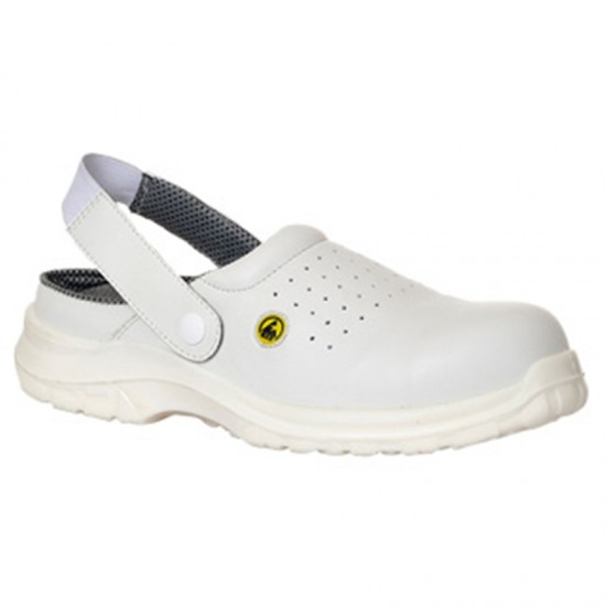 Portwest Compositelite ESD Perforated Safety Clog SB