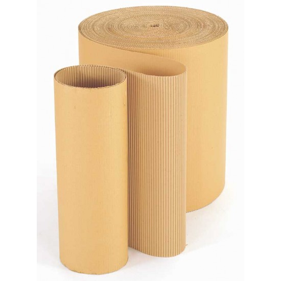 Corrugated Paper 900mm x 75 Metres