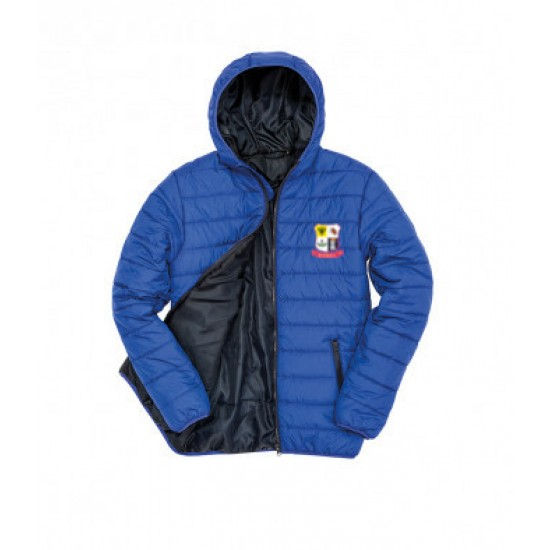 Result Core Soft Padded Jacket with WDRFC logo