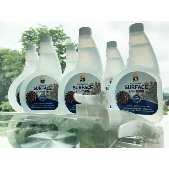 Coronavirus Surface Sanitiser (IPA Alcohol) 750ml [Pack of 6]