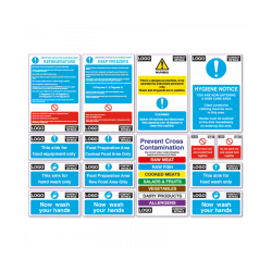 Catering Health & Safety Starter Sign Pack
