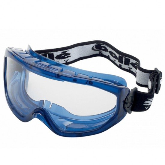 Bolle Blast Clear Ventilated Safety Goggles