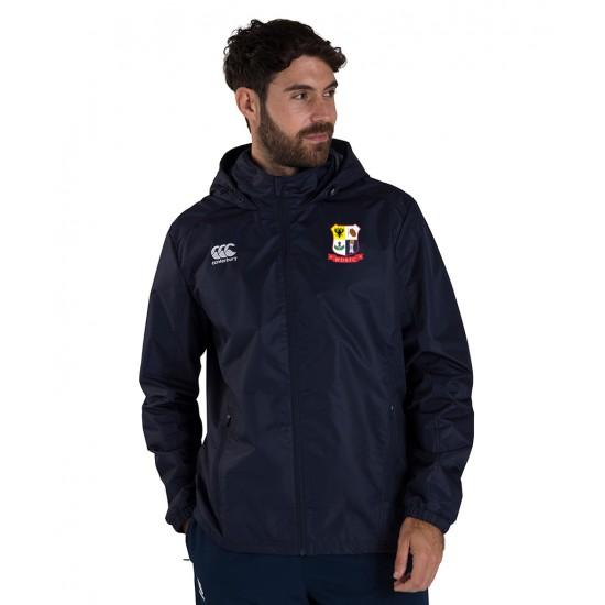 Canterbury Club Rain Jacket with WDRFC Logo