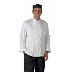 Chef Jacket Lightweight L/S Press Stud