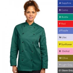 Chef Jacket Stud Button All Colours