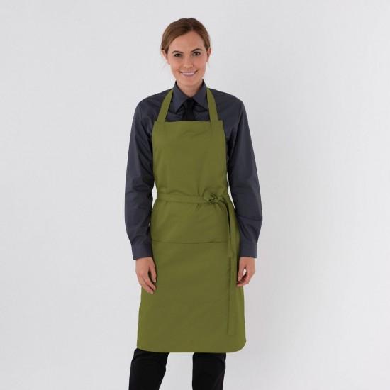Dennys Bib apron with pocket and adjustable halter (DP55)
