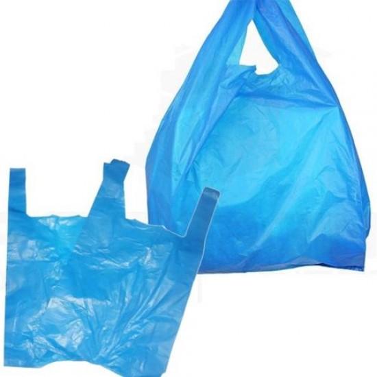 Blue Vest Carrier Bags (1000 Pack)