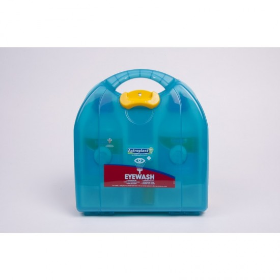 Mezzo Eyewash Dispenser includes 2 x 500ml eyewash