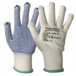 PVC Polka Dot Picker Packer Gloves