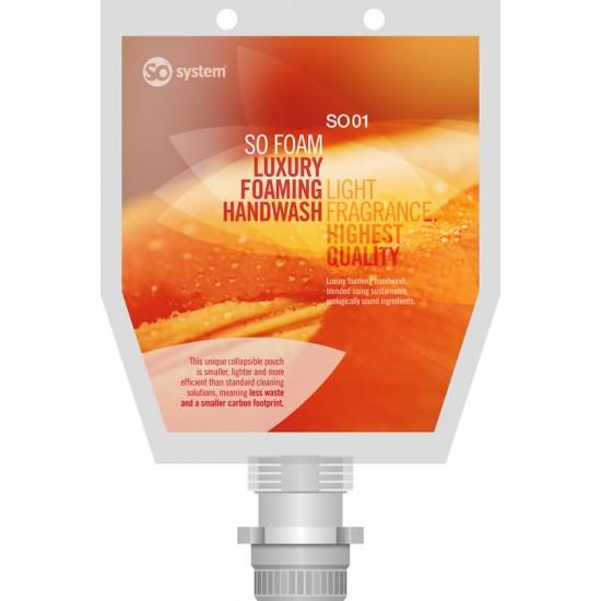 SO FOAM Luxury Fragrant Foaming Soap 3 x 1 litres